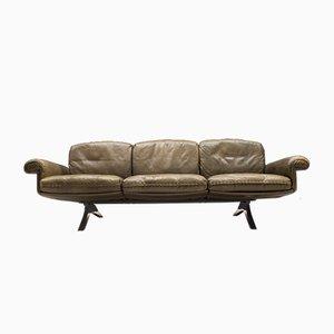 Sofá de tres plazas modelo DS31 suizo de de Sede, años 60