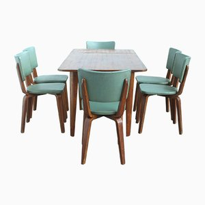 Dining Table & Chairs Set by Cor Alons for Gouda den Boer, 1949