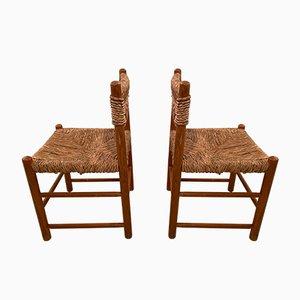 Chaise de Salle à Manger par Charlotte Perriand pour Sentou, 1950s