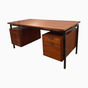 Bauhaus Desk by Herbert Hirche for Christian Holzapfel, 1950s
