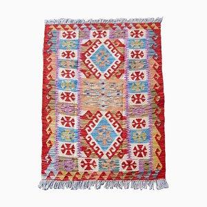 Vintage Afghan Kilim Carpet, 1980s