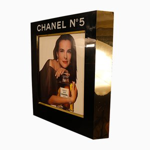 Retail Advertisement Display with Light for Chanel No. 5 by Chanel, 1980s