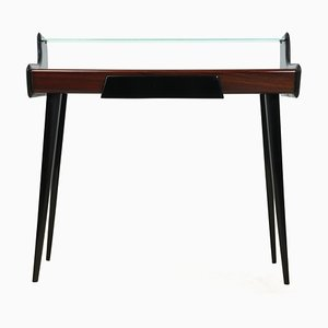 Mid-Century Italian Rosewood Console Table from Mobili Barovero Torino, 1960s