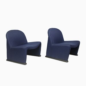 Lounge Chairs by Giancarlo Piretti for Castelli / Anonima Castelli, 1964, Set of 2