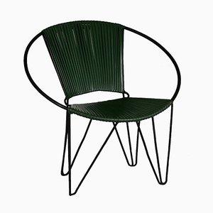Stuhl aus Kunststoff & Drahtgeflecht, 1960er
