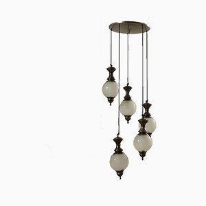 Italienische Deckenlampe, 1960er