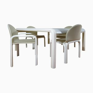 Esstisch & Stühle von Gae Aulenti für Knoll Inc. / Knoll International, 1969