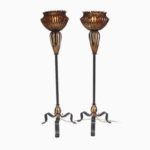 Stehlampen, 1950er, 2er Set