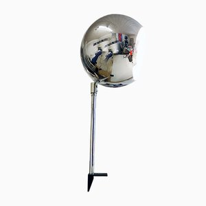 German Chrome Table Lamp from Staff, 1970s