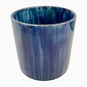 Antique Vase by Gustave Serrurier-Bovy for Manufacture des Céramiques Décoratives du Hainaut, 1900s