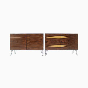 Rosewood Sideboards from Omann Jun, 1960s, Set of 2