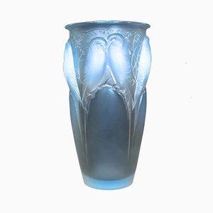 Jarrón Ceylan de René Lalique, años 30