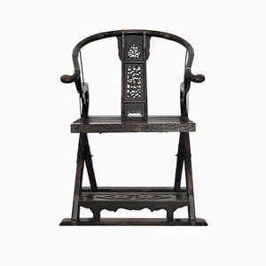 Antique Folding Lounge Chair