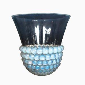 Jarrón Seeds Art Déco de René Lalique, años 30