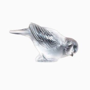 Pisapapeles Art Déco de vidrio de René Lalique, años 30