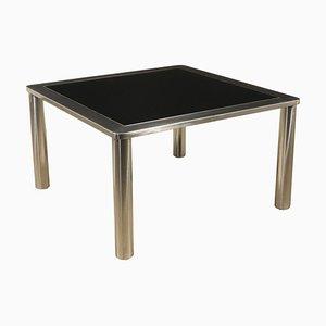 Tavolino in metallo cromato, Italia, anni '70