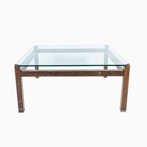 Glass Coffee Table by Kho Liang Ie for Artifort, 1960s