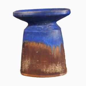 Bougeoir en Céramique par Glatzle pour Karlsruher Majolika, 1968