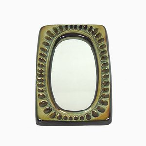 Vintage Mirror by Adam Sadulski for Mirostowice, 1960s