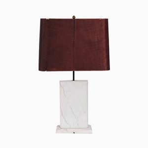 Marble Table Lamp, 1970s