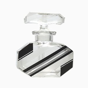 Art Deco Glass Scent Bottle by Karl Palda for Karl Palda, 1930s