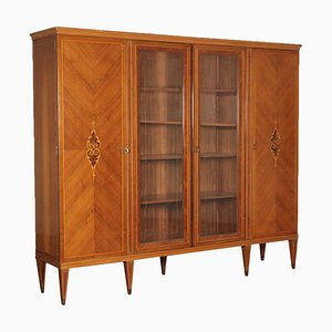 Italian Walnut Cupboard, 1950s