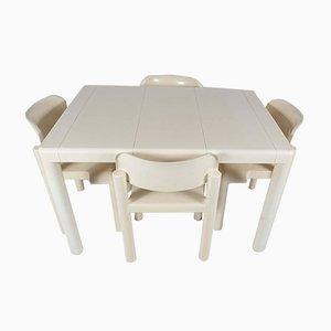 Set da pranzo e tavolo di Eero Aarnio per UPO, 1984