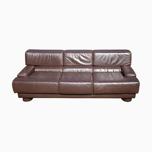 Mid-Century Leather Sofa by Percival Lafer, 1970s