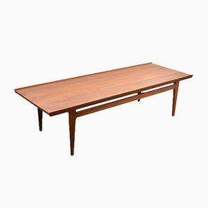 Grande Table Basse par Finn Juhl pour France & Søn / France & Daverkosen, Danemark, années 60