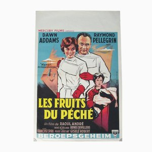 The Fruits of Sin Movie Poster, 1959