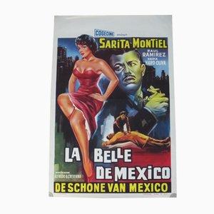 Póster de la película La Belle de México, 1956
