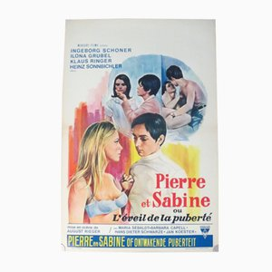 Peter and Sabine Movie Poster, 1968