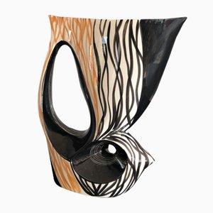 Grand Vase en Céramique, années 50