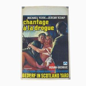 Drug Blackmail Movie Poster, 1969