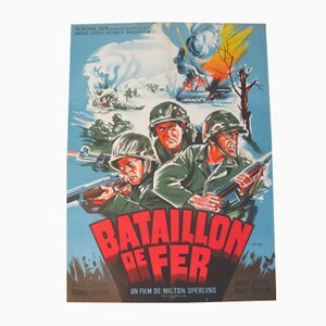Iron Battalion Movie Poster by Constantin Belinsky, 1952