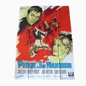 The Counterfeit Killer Movie Poster by Constantin Belinsky, 1968