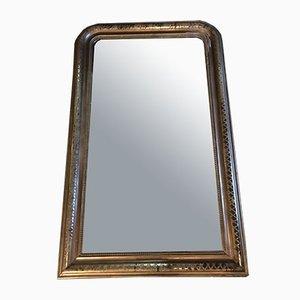 Espejo antiguo, década de 1890