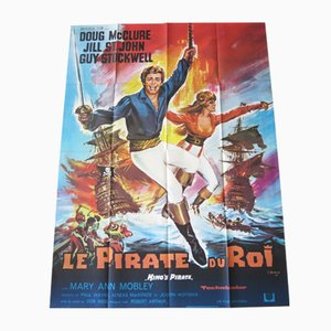 The Pirate King Movie Poster by Constantin Belinsky, 1967
