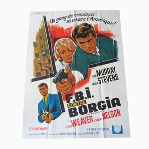 FBI against Borgia Movie Poster, 1968