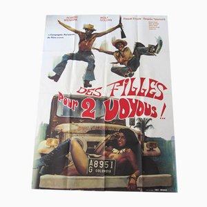 Girls 2 Thugs Movie Poster, 1974