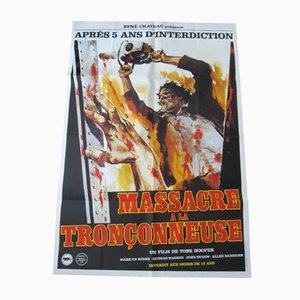 Póster de la película Texas Chainsaw Massacre, 1974