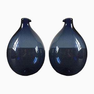 Vases par Timo Sarpaneva pour Littala, années 50, Set de 2