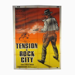 Tension at Table Rock Movie Poster, 1956