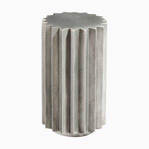Doris Beistelltisch aus gegossenem Aluminium von Fred & Juul
