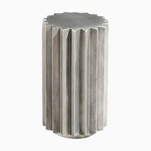 Table d'Appoint Doris en Fonte d'Aluminium par Fred & Juul