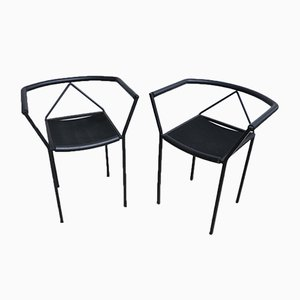 Dining Chairs by Peregalli Maurizio for Zeus, 1984, Set of 2