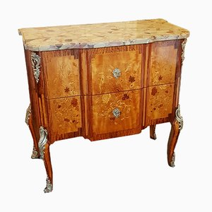 19th Century Lemon and Sycamore Dresser