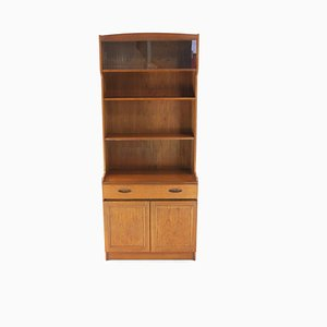 Large Vintage Danish Teak Wall Unit, 1970s