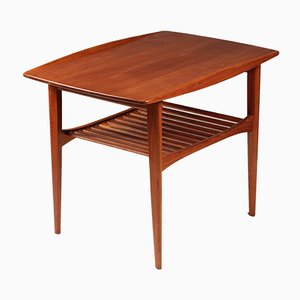 Mid-Century Teak Side Table by Tove & Edvard Kindt-Larsen for France & Søn / France & Daverkosen