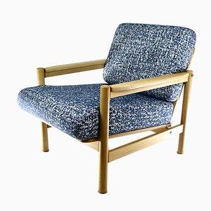 Vintage Blue Armchair, 1960s